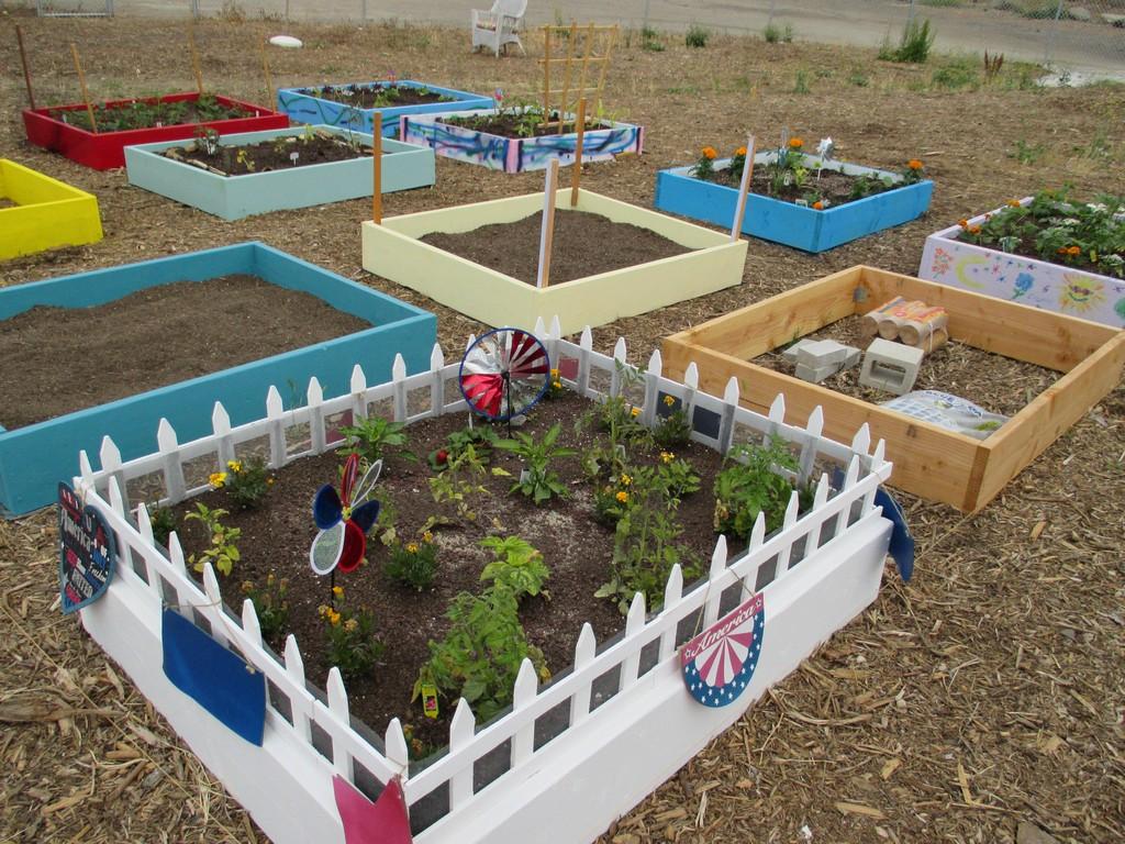 Las Flores Kids Community Garden, May 2015